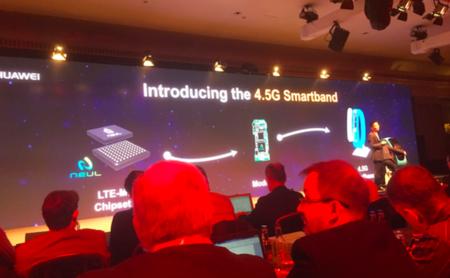 Huawei desvela que llevará el MWC una nueva smartband con conectividad LTE 4,5G
