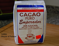 Cacao dominicano, genuino sabor