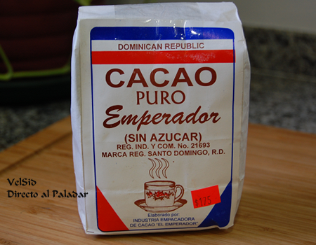 Cacao dominicano, genuino sabor