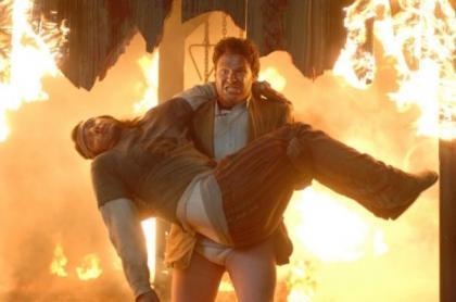 Seth Rogen y James Franco en 'Superfumados' ('Pineapple Express'), producida por Judd Apatow
