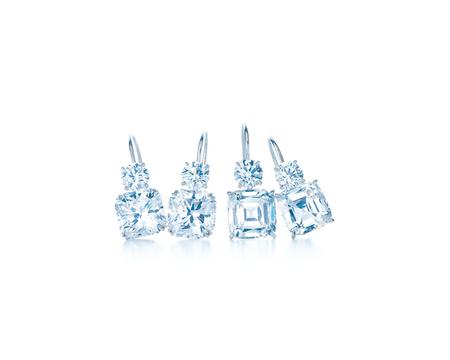 diamantes sobre platino Tiffany Lucida