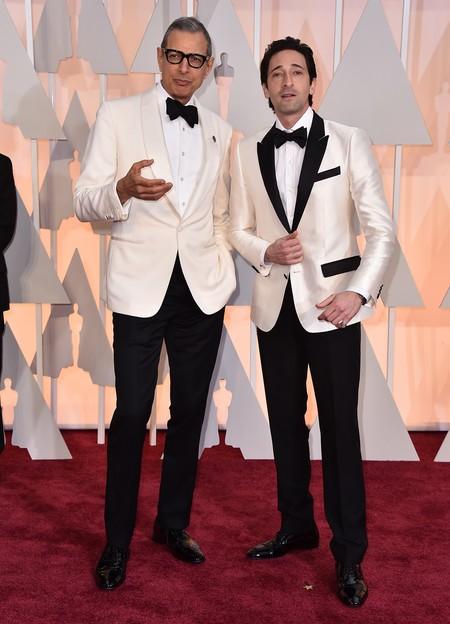 Jeff Goldblum y Adrián Brody
