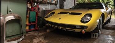 A subasta un Lamborghini Miura hallado en un granero, con solo 30 mil kilómetros en el odómetro