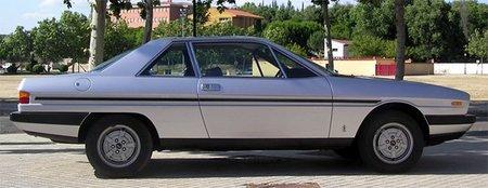 Los coches malditos: Lancia Gamma Coupé