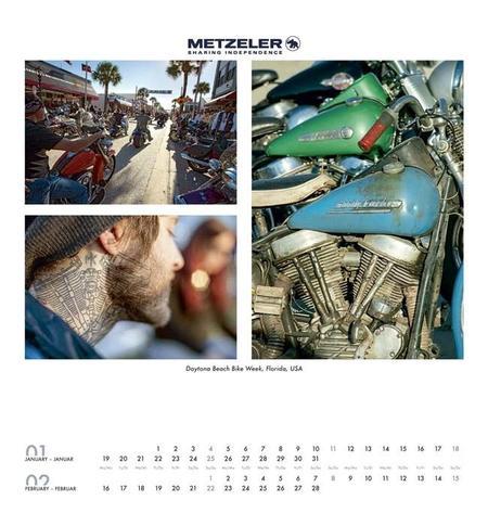 Calendario Metzeler 2015