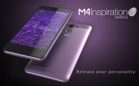M4 Inspiration, la compañía mexicana tiene su primer smartphone con sensor de huellas