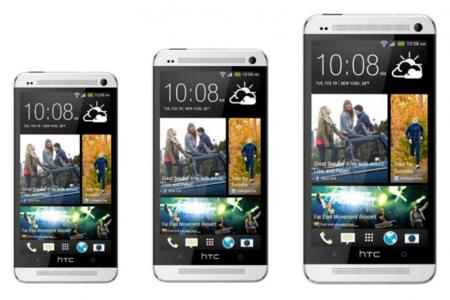 HTC One mini está al caer, la versión Max lo hará en septiembre