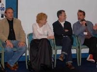 Presentación de 'Rivales', lo próximo de Colomo, en el Festival de Málaga