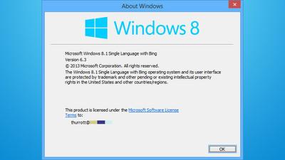 'Windows 8.1 with Bing' podría ser la versión más barata del sistema para licenciar a OEMs