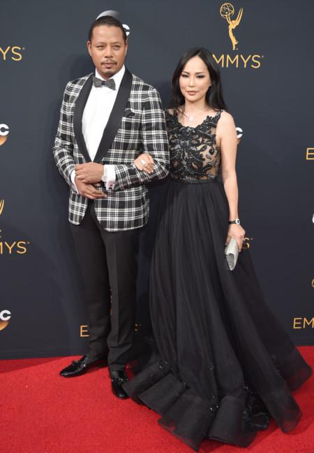 Terrence Howard y  Miranda Pak