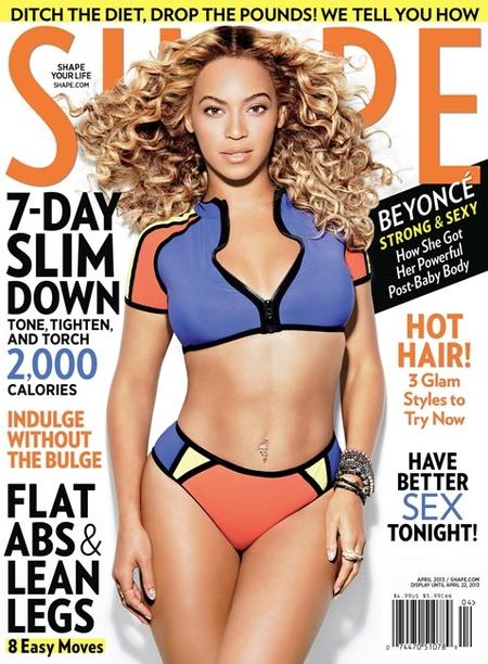 Di que sí, Beyoncé, que si Dios te dio ese cuerpo era para lucirlo en todos lados...