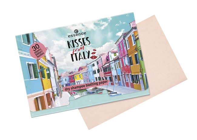 Ess Kisses From Italy Dry Shampoo Blotting Paper With Paper