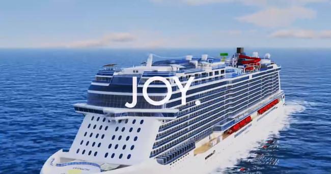 'The Joy', un crucero con pista de karting