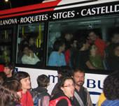Problemas de organización en Sitges