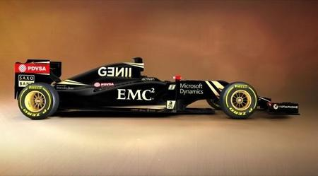 Lotus E23 Lateral