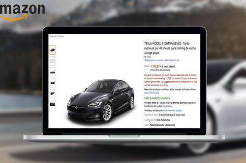 Amazon da el salto al renting de coches en España: entrega a domicilio, seguro, mantenimientos y hasta 48 meses