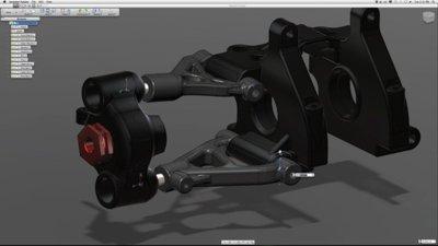 Autodesk Inventor Fusion, modelado rápido para Mac