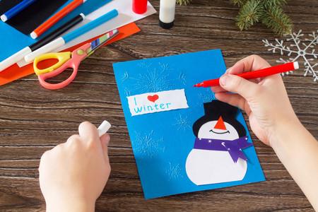 21 manualidades de invierno para hacer con los niños en casa durante las vacaciones