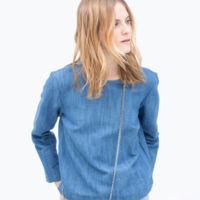 Mini Bandolera Tweed Zara