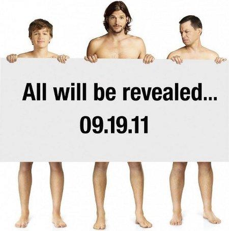 Ashton Kutcher y su primera promo de 'Dos hombres y medio', la imagen de la semana