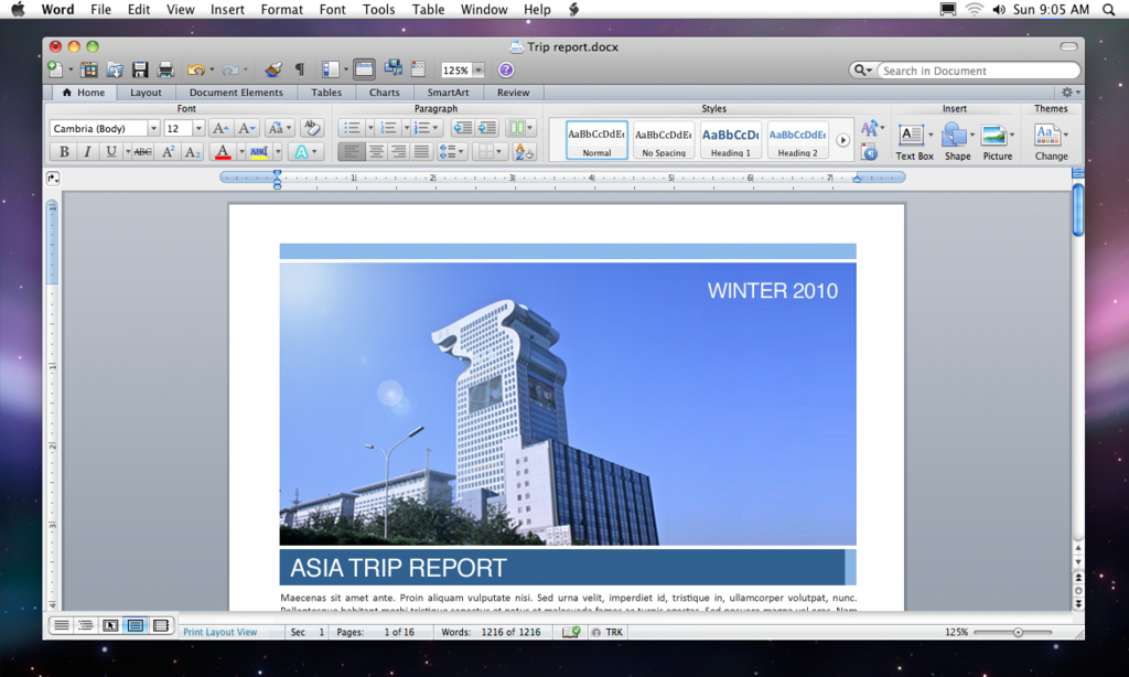 Foto de Microsoft Office 2011 para Mac (2/3)