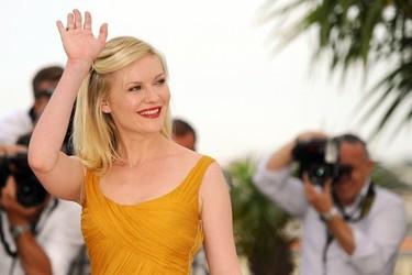 Y Kirsten Dunst llegó al Festival de Cannes