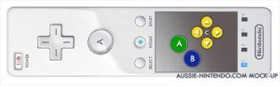 El mando de la Nintendo Revolution con sensor táctil