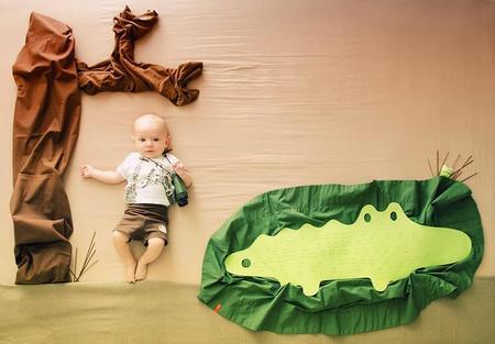 Preciosas y creativas fotos de su bebé, by Isabel Cortés
