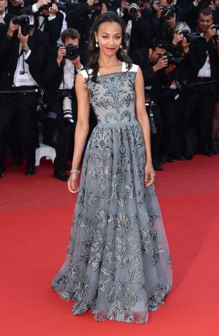 Zoe Saldana Festival Cannes 2013