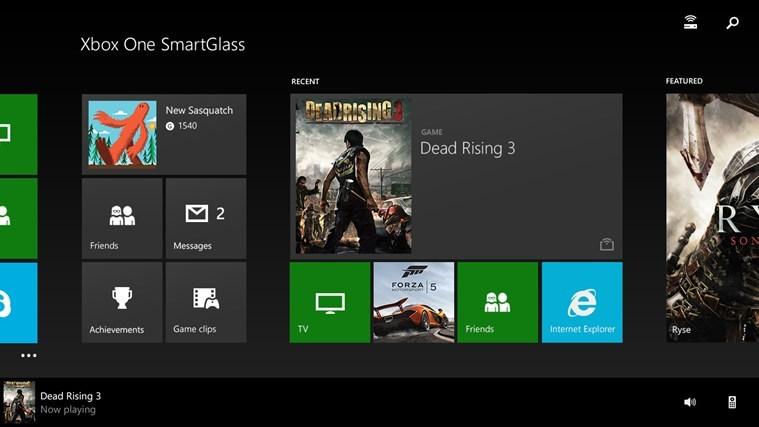 Foto de Xbox One SmartGlass Windows 8.1 (1/4)