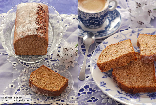 Receta de pan de especias