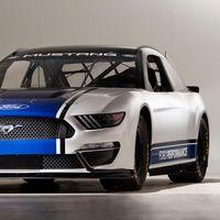 Así de espectacular luce el Ford Mustang que por primera vez en 54 años correrá la Nascar Cup Series