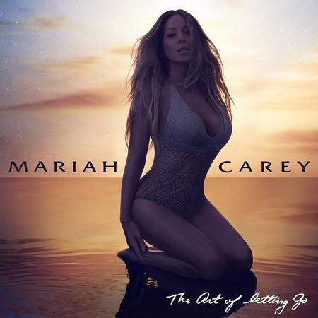 Mariah Carey saca pecho y pierde kilos en la portada de su nuevo disco