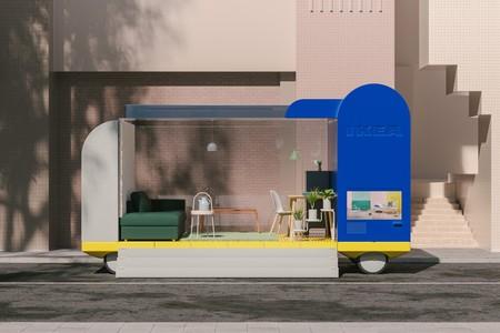 IKEA diseñó siete vehículos autónomos, pero éstos funcionarían más como hoteles, tiendas, oficinas o como sala de juegos
