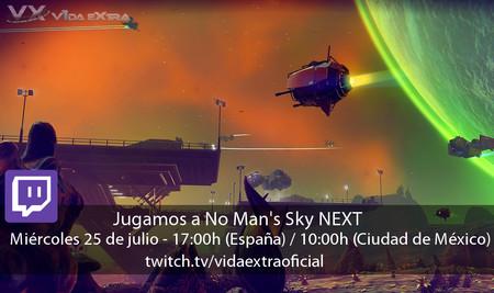 Streaming de No Man's Sky: NEXT a las 17:00h (las 10:00h en CDMX) [finalizado]