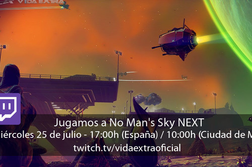 Streaming de No Man's Sky: NEXT a las 17:00h (las 10:00h en CDMX) [finalizado]