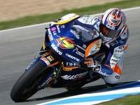 Pole provisional para Álvaro Bautista en 250cc