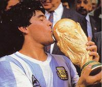 Un reality de fútbol con Maradona