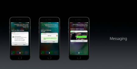 SiriKit para mensajes en iOS