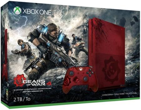 Conozcan la Xbox One S de edición limitada de 2TB de Gears of War 4, una consola para verdaderos coleccionistas
