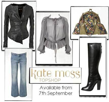 Avances de los diseños de Kate Moss para Topshop