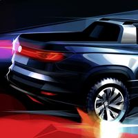 Volkswagen prepara una pick-up basada en T-Cross, con el Renault Oroch en la mira