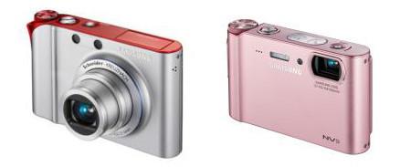Samsung presenta dos atractivas compactas: NV100 y NV9