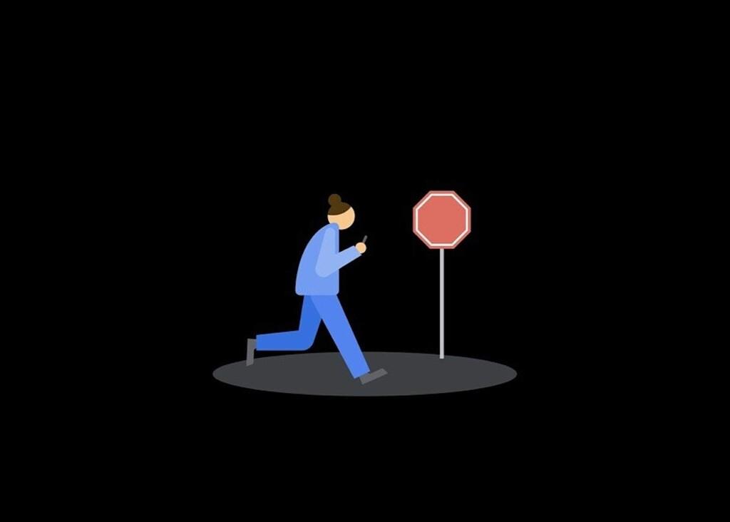 Google despliega una nueva función en Android para alertar a los usuarios que caminan todo el rato mirando el móvil