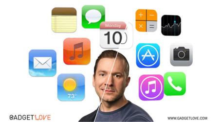 Imagen de la semana: Las diferencias entre iOS 6 y iOS 7, o el trabajo de Forstall y Ive
