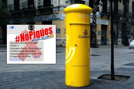 Si te llega un SMS de Correos pidiendo 1,79 euros, ten cuidado: la Policía alerta de esta estafa que vuelve a la carga