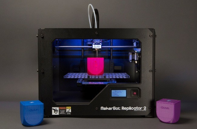 OUYA y MakerBot Replicator 2