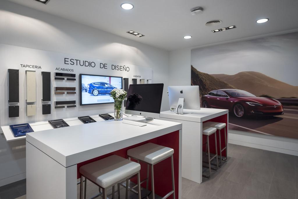 Tesla Madrid DesignStudio