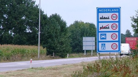 Limites de velocidad en Holanda