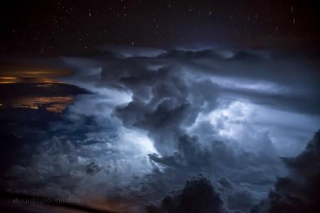 Santiago Borja Fotos Tormentas Desde Avion 3